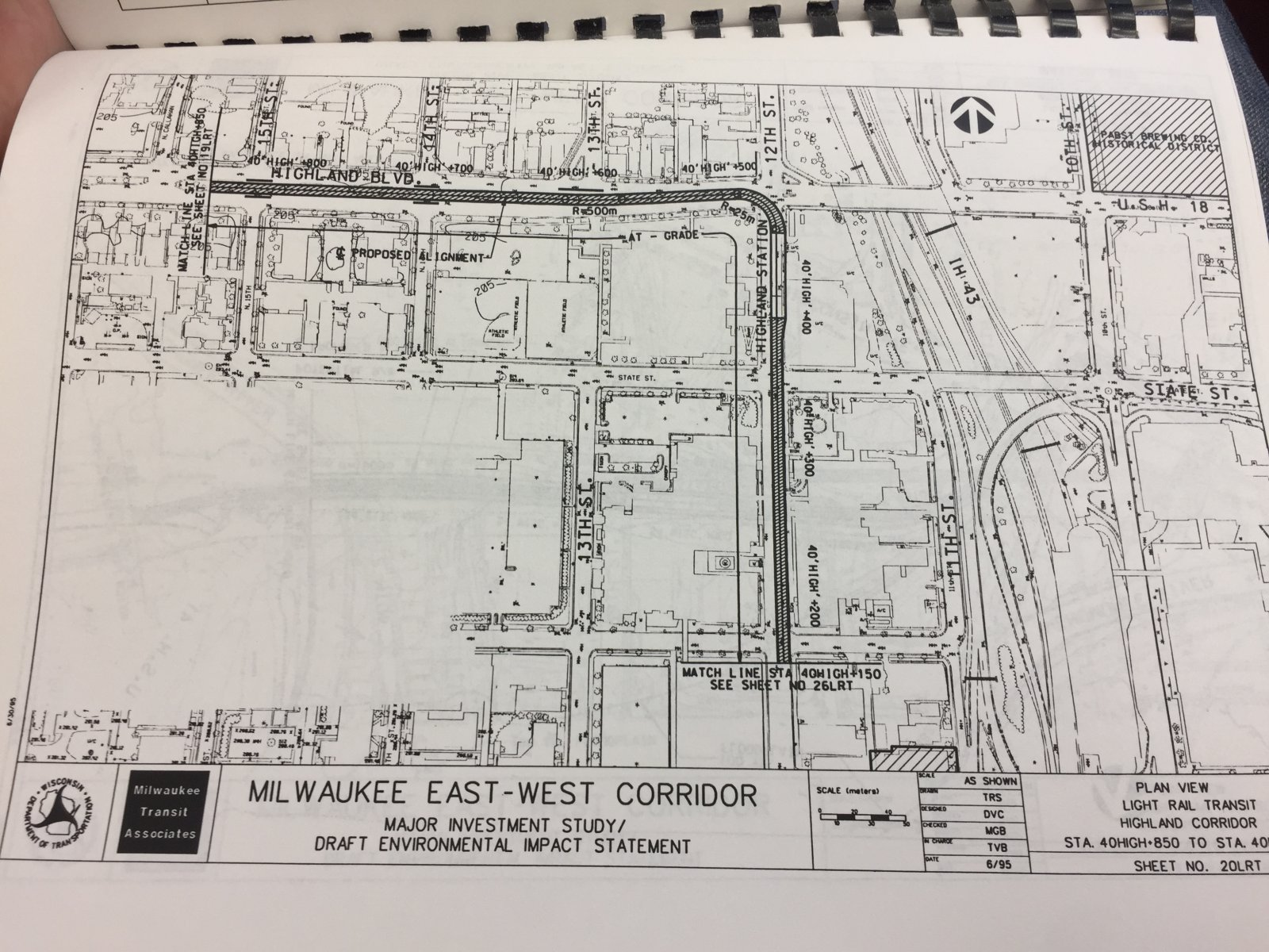1996 Light Rail Plan