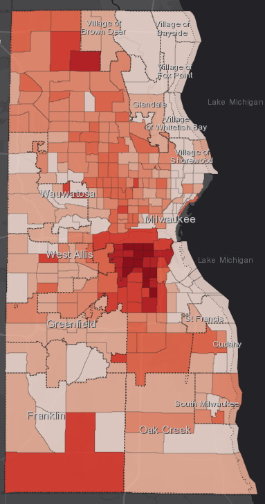 June 16 COVID-19 Milwaukee County - All Cases
