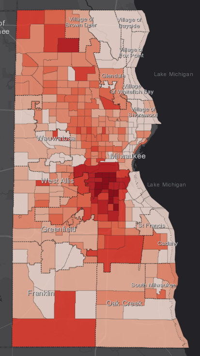 June 17 COVID-19 Milwaukee County - All Cases