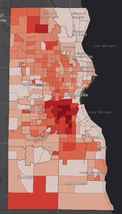 June 18 COVID-19 Milwaukee County - All Cases