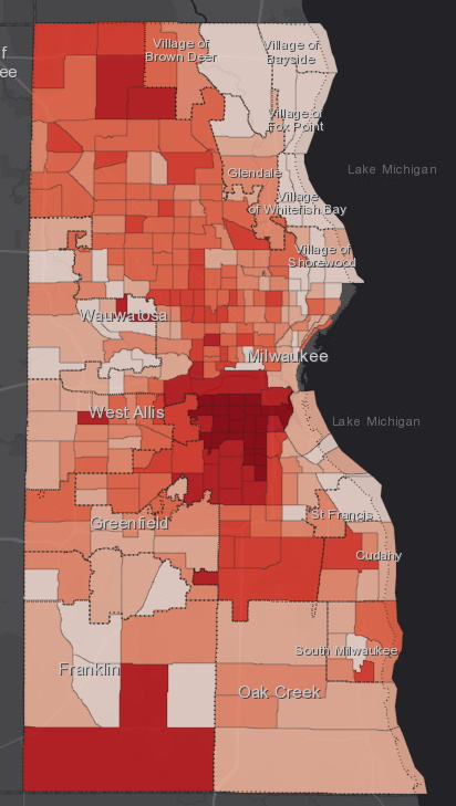 June 28 COVID-19 Milwaukee County - All Cases