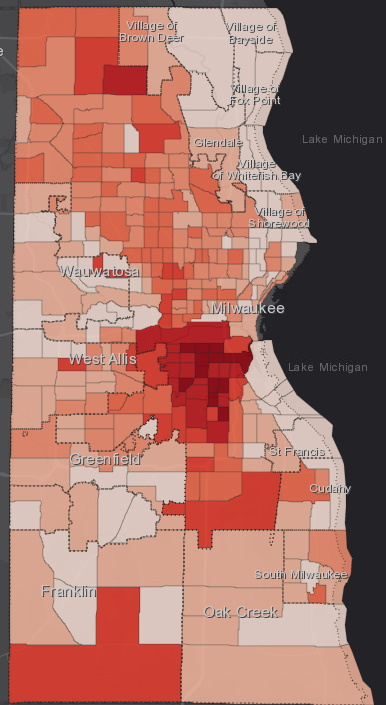 July 6 COVID-19 Milwaukee County - All Cases