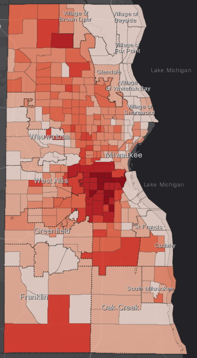 July 7 COVID-19 Milwaukee County - All Cases