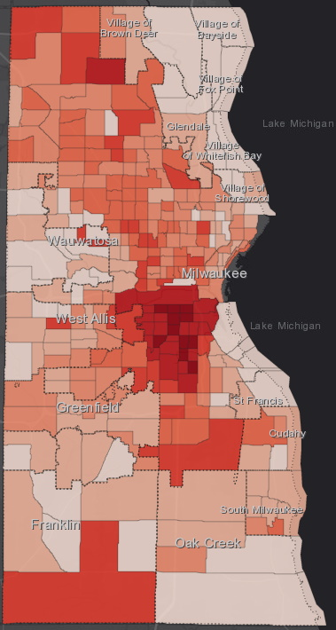 July 13 COVID-19 Milwaukee County - All Cases