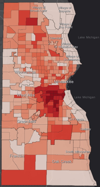 July 29 COVID-19 Milwaukee County - All Cases