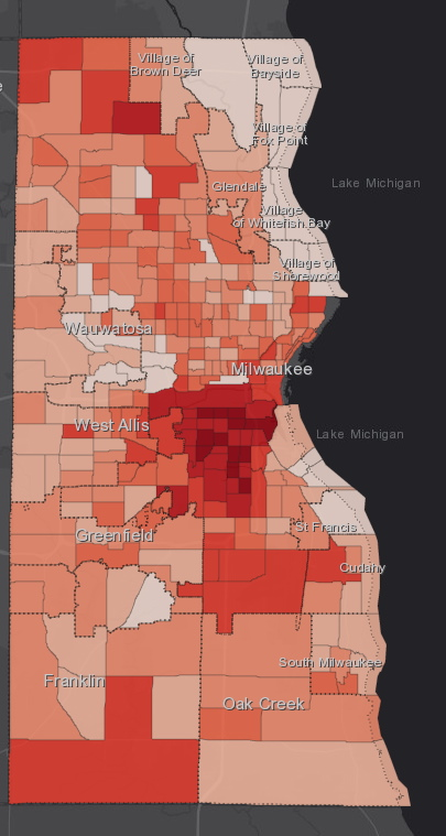 September 15th COVID-19 Milwaukee County - All Cases