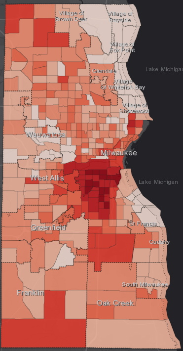 September 22nd COVID-19 Milwaukee County - All Cases