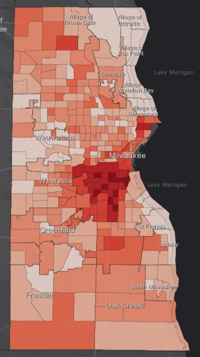 October 7th COVID-19 Milwaukee County - All Cases