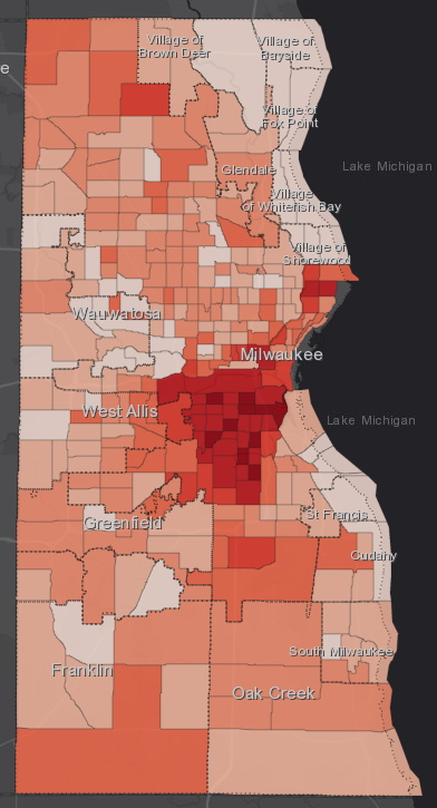 October 9th COVID-19 Milwaukee County - All Cases