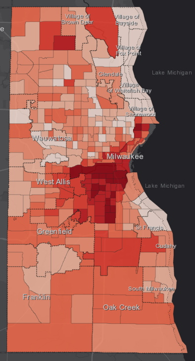 November 4th COVID-19 Milwaukee County - All Cases