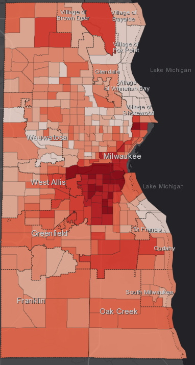 November 6th COVID-19 Milwaukee County - All Cases