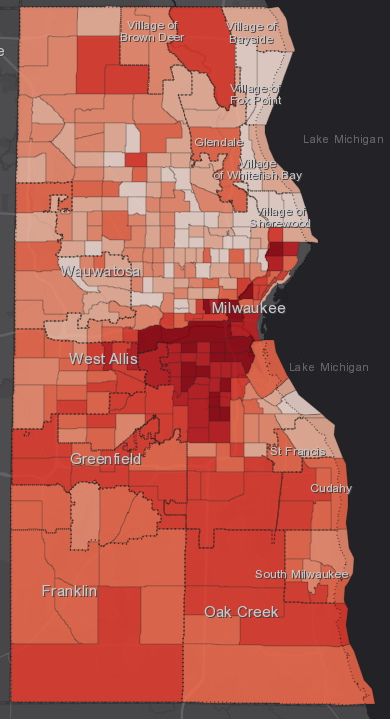 November 20th COVID-19 Milwaukee County - All Cases