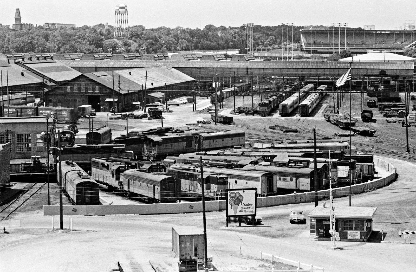Milwaukee Road Yard in Menomonee Valley