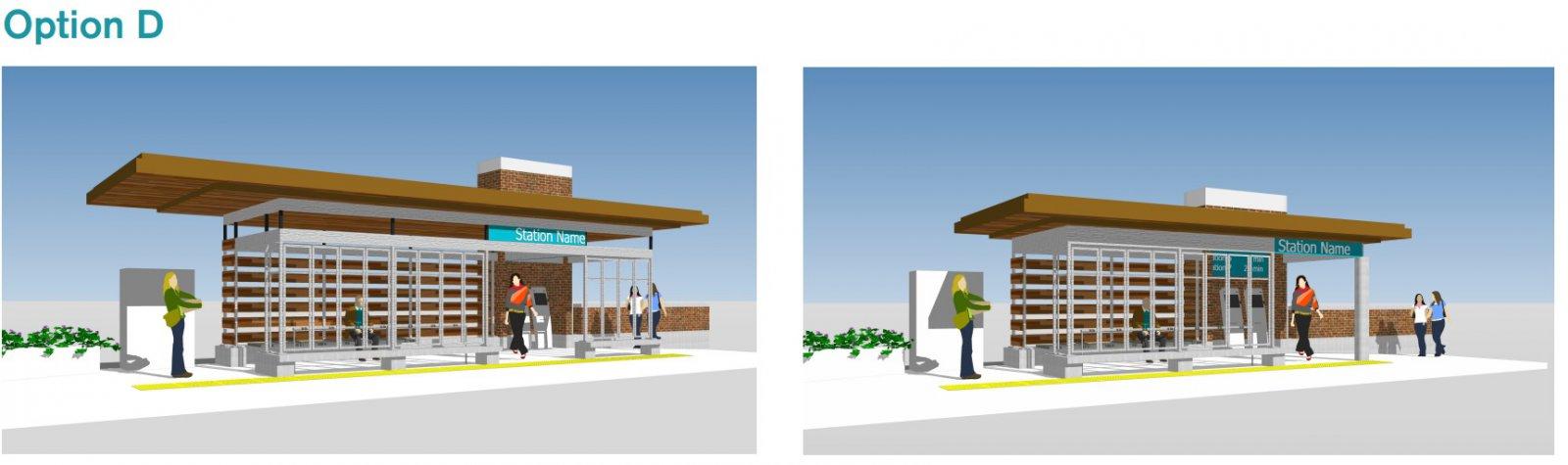 BRT Station Option D