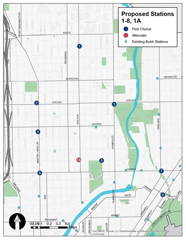 2020 Bublr Bikes Expansion Sites