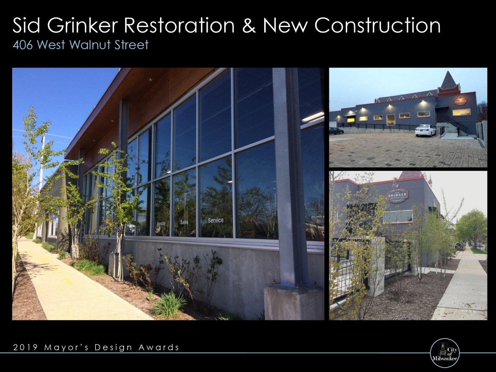Sid Grinker Restoration