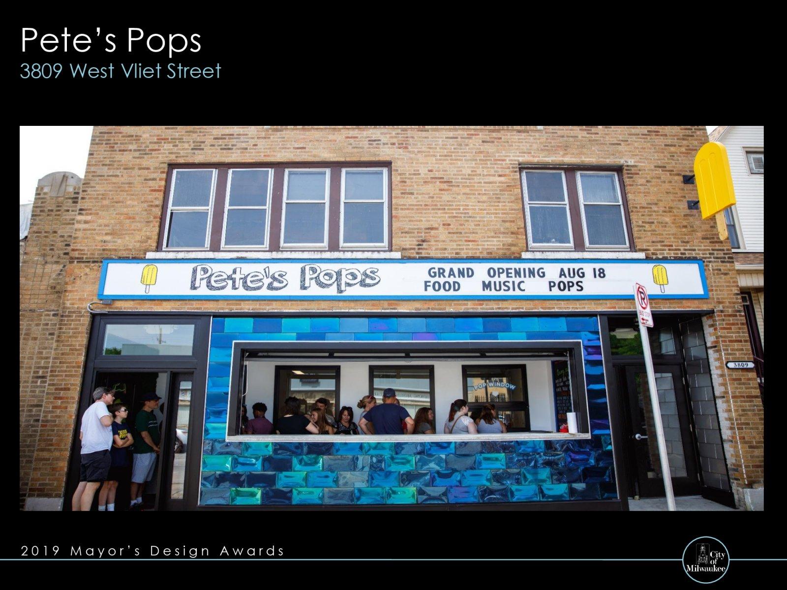 Pete\'s Pops