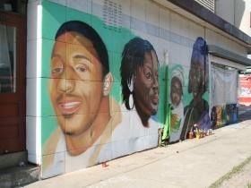 505 E. Center St. Mural