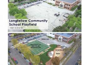 Longfellow Community School Playfield