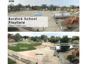 Burdick School Playfield