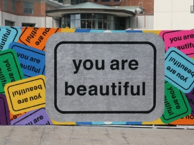 You Are Beautiful Mural