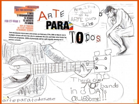 Arte Para Todos Poster.