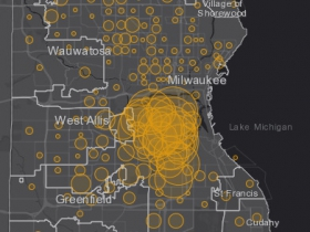 May 27 COVID-19 Milwaukee County - New Cases in Last 7 Days