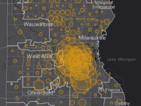 May 29 COVID-19 Milwaukee County - New Cases in Last 7 Days