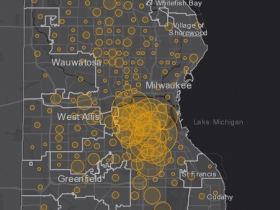 June 2 COVID-19 Milwaukee County - New Cases in Last 7 Days