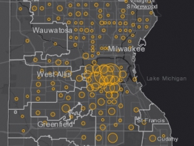 June 8 COVID-19 Milwaukee County - New Cases in Last 7 Days
