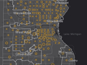 June 30 COVID-19 Milwaukee County - New Cases in Last 7 Days