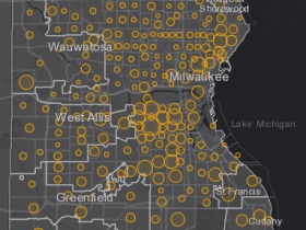 July 25 COVID-19 Milwaukee County - New Cases in Last 7 Days