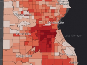 August 3rd COVID-19 Milwaukee County - All Cases