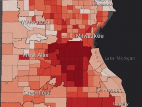 August 9th COVID-19 Milwaukee County - All Cases
