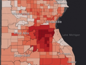 August 15th COVID-19 Milwaukee County - All Cases