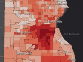 August 16th COVID-19 Milwaukee County - All Cases