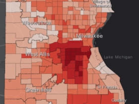 August 17th COVID-19 Milwaukee County - All Cases