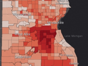 August 20th COVID-19 Milwaukee County - All Cases