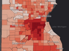August 21st COVID-19 Milwaukee County - All Cases