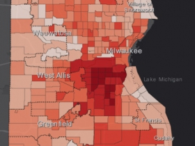August 22nd COVID-19 Milwaukee County - All Cases