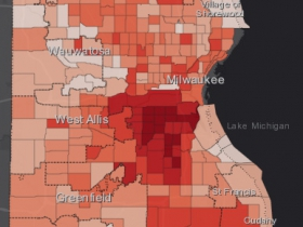 August 23rd COVID-19 Milwaukee County - All Cases