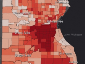 August 30th COVID-19 Milwaukee County - All Cases