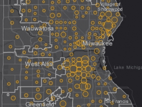 October 2nd COVID-19 Milwaukee County - New Cases in Last 7 Days