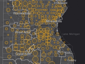 October 28th COVID-19 Milwaukee County - New Cases in Last 7 Days