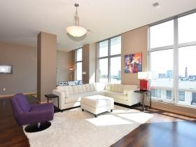 601 Lofts Living Room