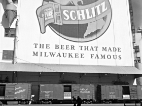 The Beer Line at Schlitz Brewing