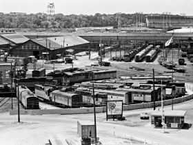 Milwaukee Road Yard in Menomonee Valley