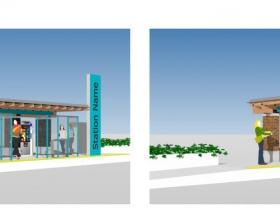BRT Station Option C