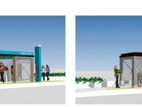 BRT Station Option F