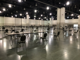 Wisconsin Center Space - Recount 2020